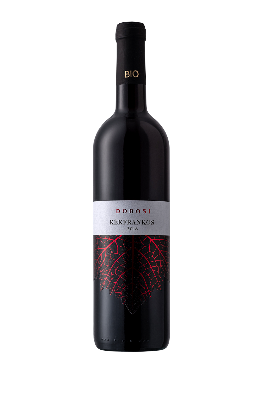 <p>Our Kékfrankos is a red wine from 2018, which was harvestedatthe end of September. It is dark rubin in colourlike andin scentyou might discover aripe pepper aroma, withseasoned sour cherry in addition.</p>  <p>The wine has complex, beautiful acids in its taste, and in the finish we can discover herbal and dark chocolate flavours.<br /> <br /> Balatonfüred-Csopaki Protected dry red organic wine with designation of origin.</p>